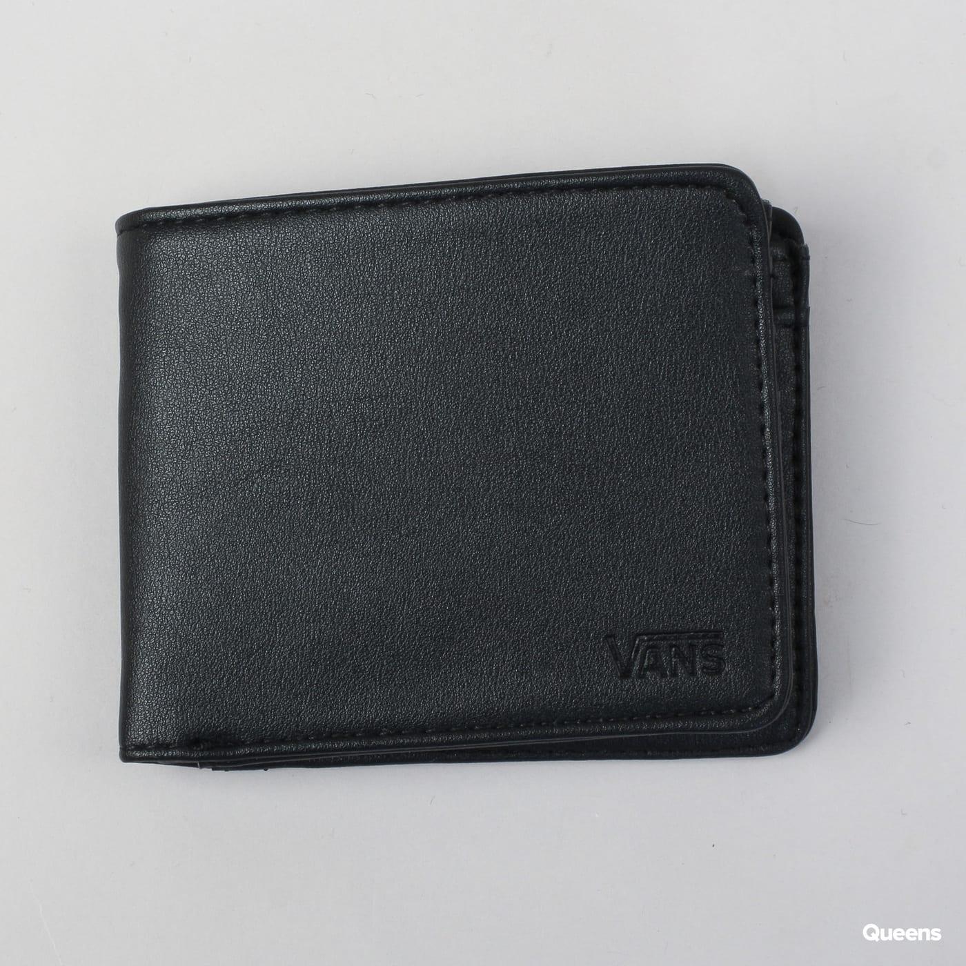 e5c842cab2ca3c Wallet Vans Drop V Bifold Wallet (VA31J8BLK)– Queens 💚
