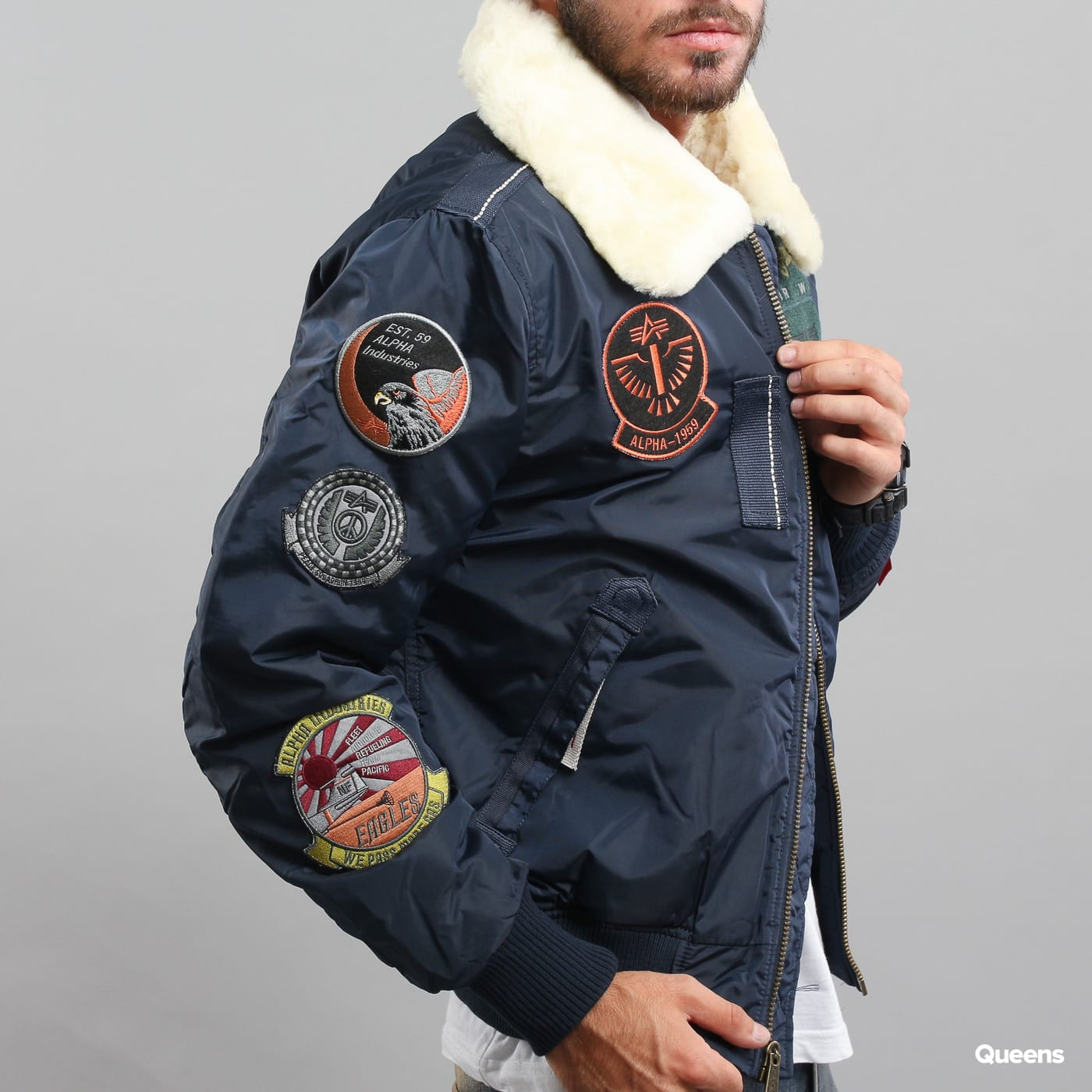 f87bb4c0e4 Zoom in Zoom in Zoom in Zoom in Zoom in Zoom in. Alpha Industries Injector  III Patch navy