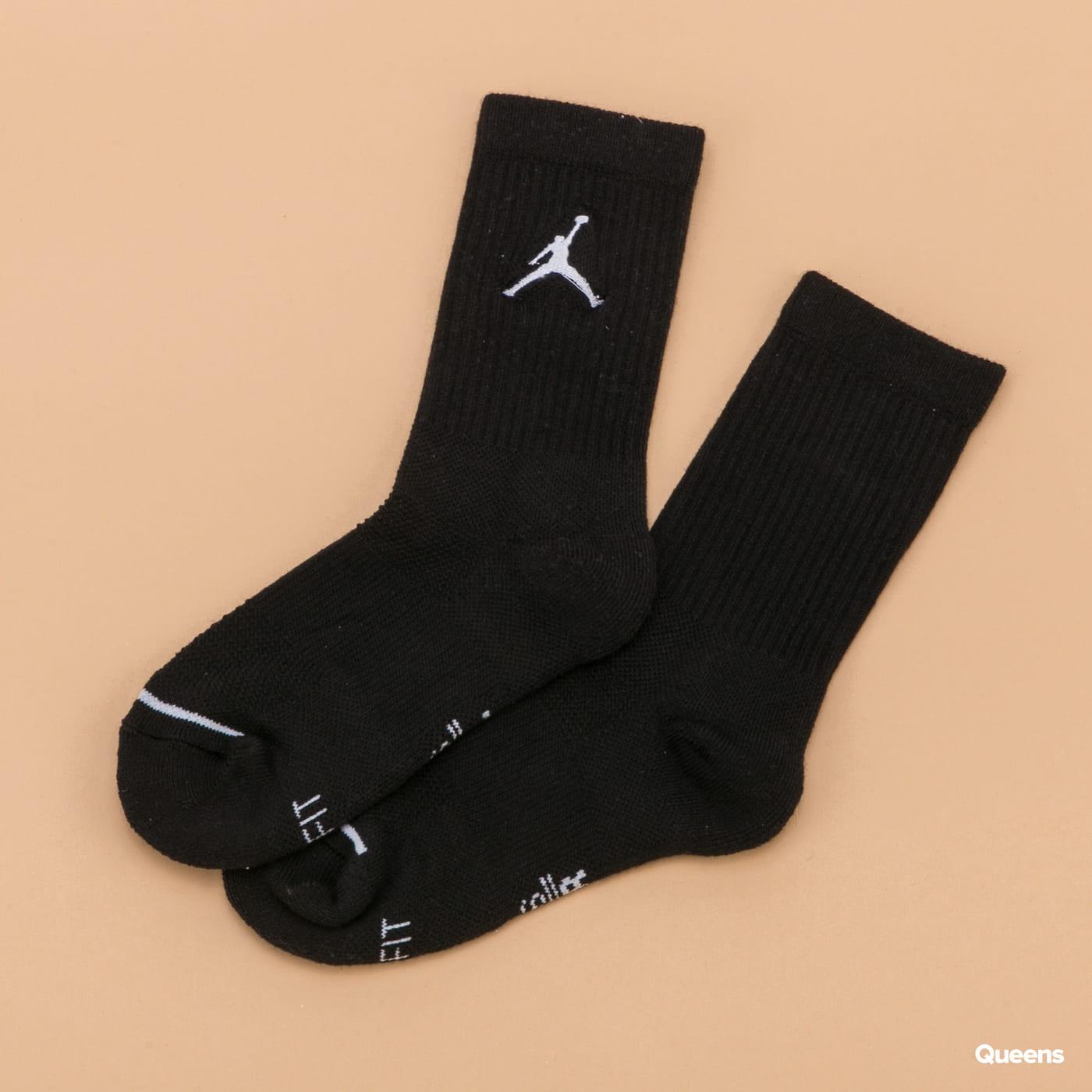 Jordan Jumpman Crew 3Pack černé