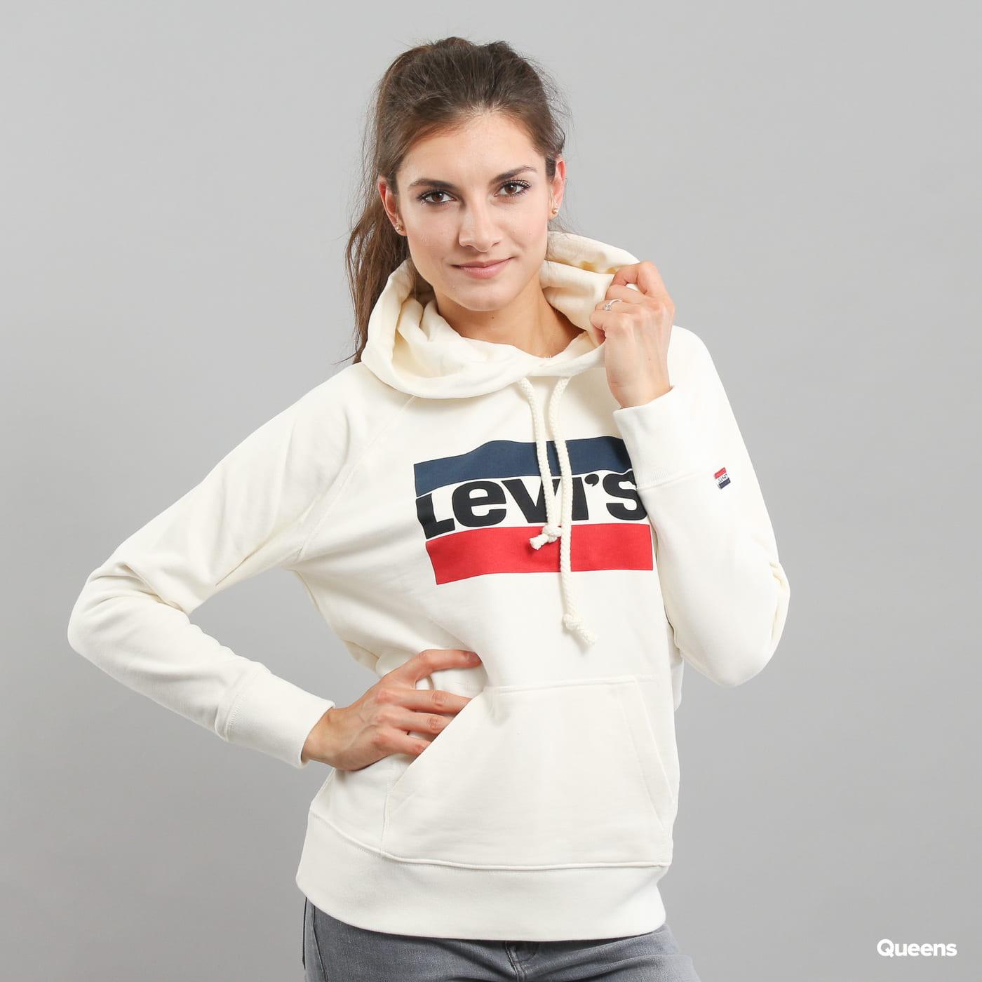 Levi's ® Graphic Sport Hoodie weiß