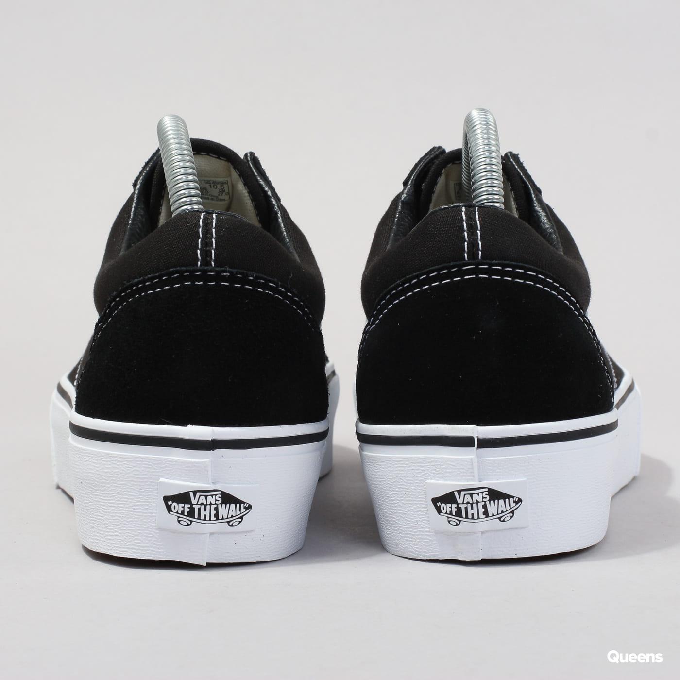 Vans Old Skool Platform schwarz / weiß