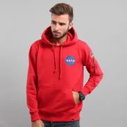 Alpha Industries Space Shuttle Hoody červená