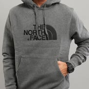 The North Face M Drew Peak Pull Hoody melange tmavě šedá