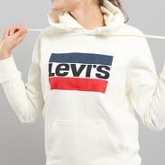 Levi's ® Graphic Sport Hoodie bílá