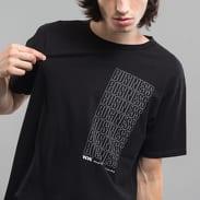 WOOD WOOD Business T-shirt černé