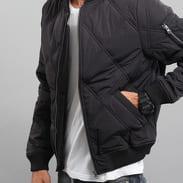 Urban Classics Big Diamond Quilt Bomber Jacket schwarz