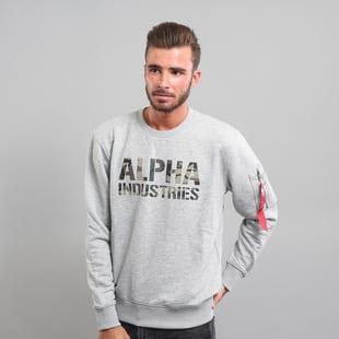 Alpha Industries Camo Print Sweat