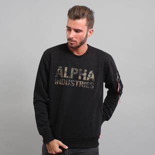 Alpha Industries Camo Print Sweat