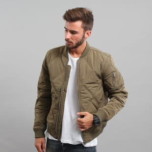 Urban Classics Big Diamond Quilt Bomber Jacket