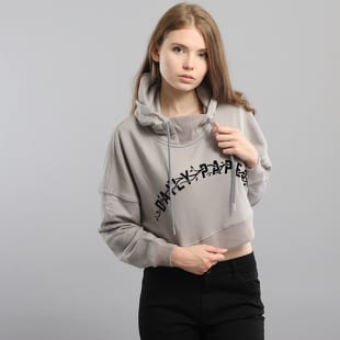 Daily Paper Grey Carly Cropped Hoodie