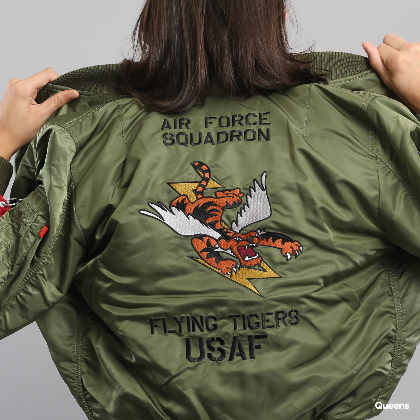 Alpha Industries MA - 1 VF Flying Tigers olive