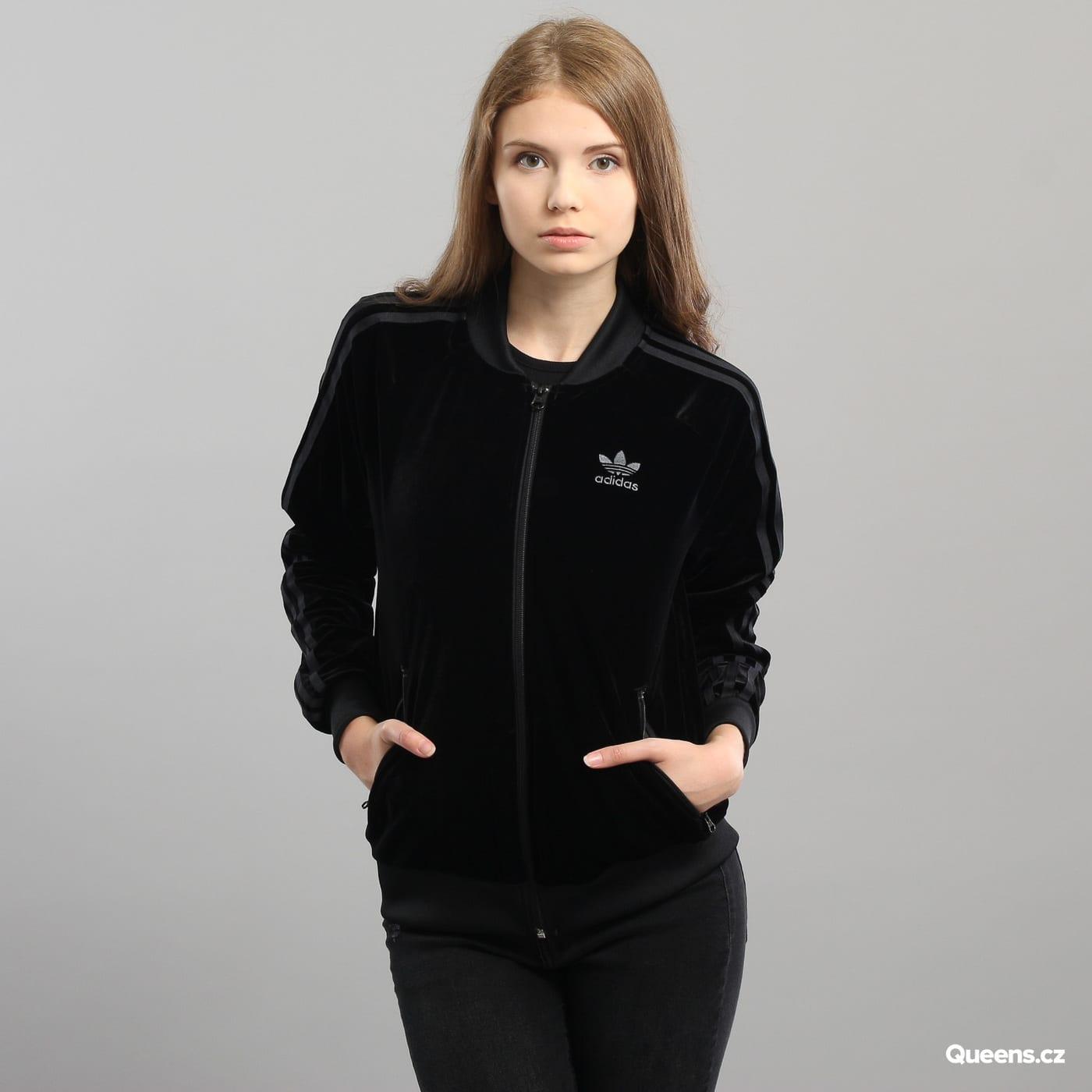 Dámska mikina adidas VV SST TT Velvet (CW0272)– Queens 💚 ce34c5c2ae9