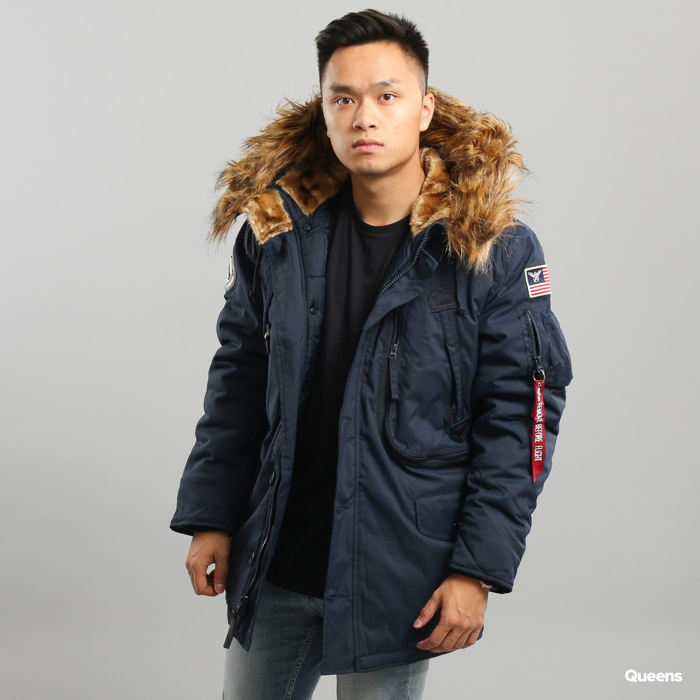 Pánská zimní bunda Alpha Industries Polar Jacket (123144 07) – Queens 💚 5b0bf29799