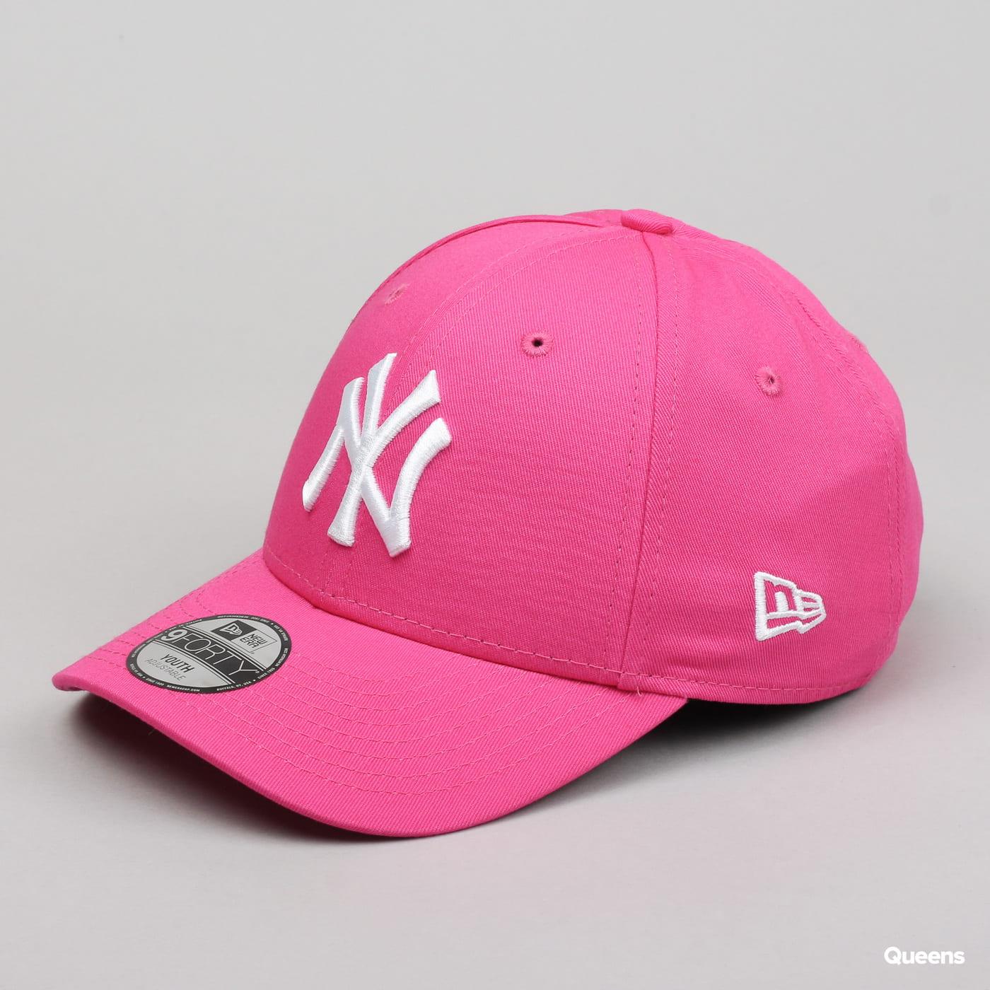 New Era Youth 940K MLB League Basic NY ružová