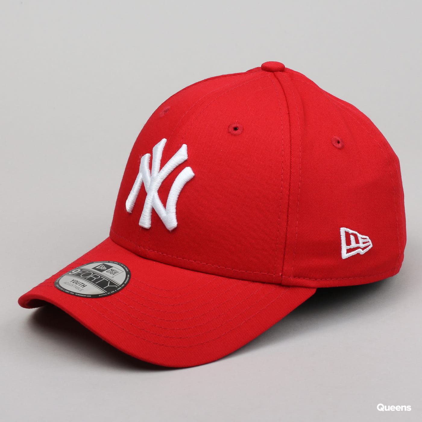 New Era Youth 940K MLB League Basic NY C/O červená