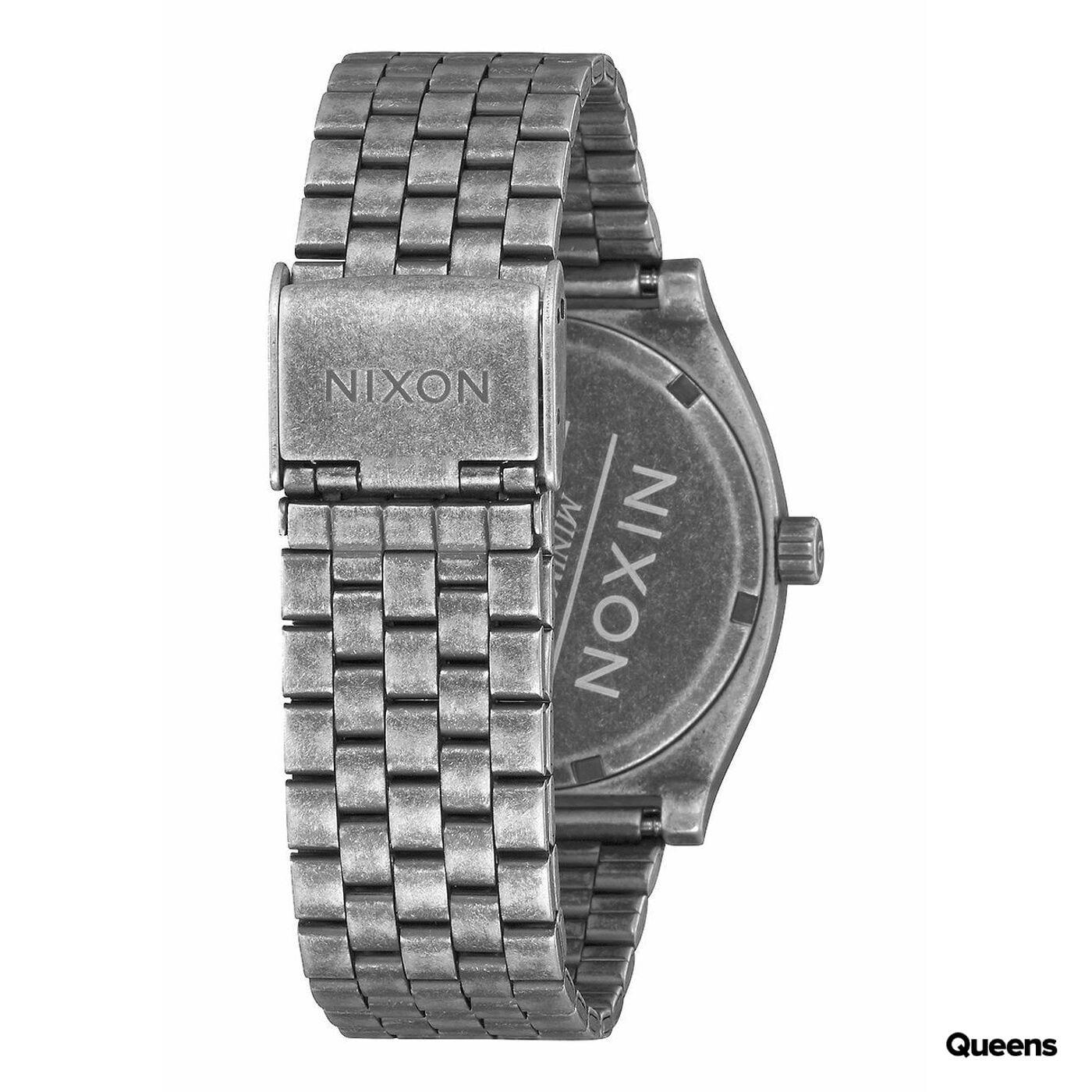Nixon Time Teller silber / weiß