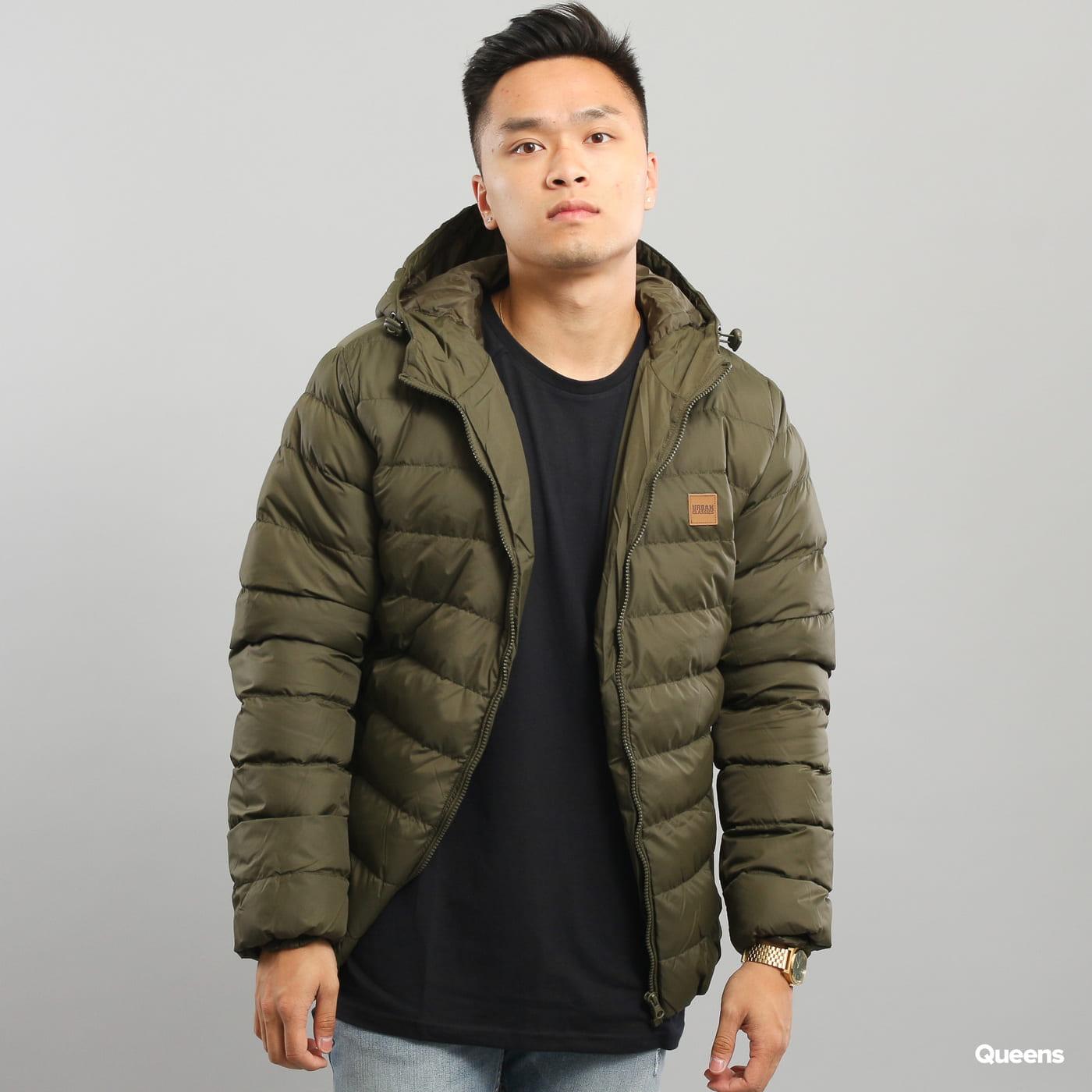 Urban Classics Basic Bubble Jacket dark olive