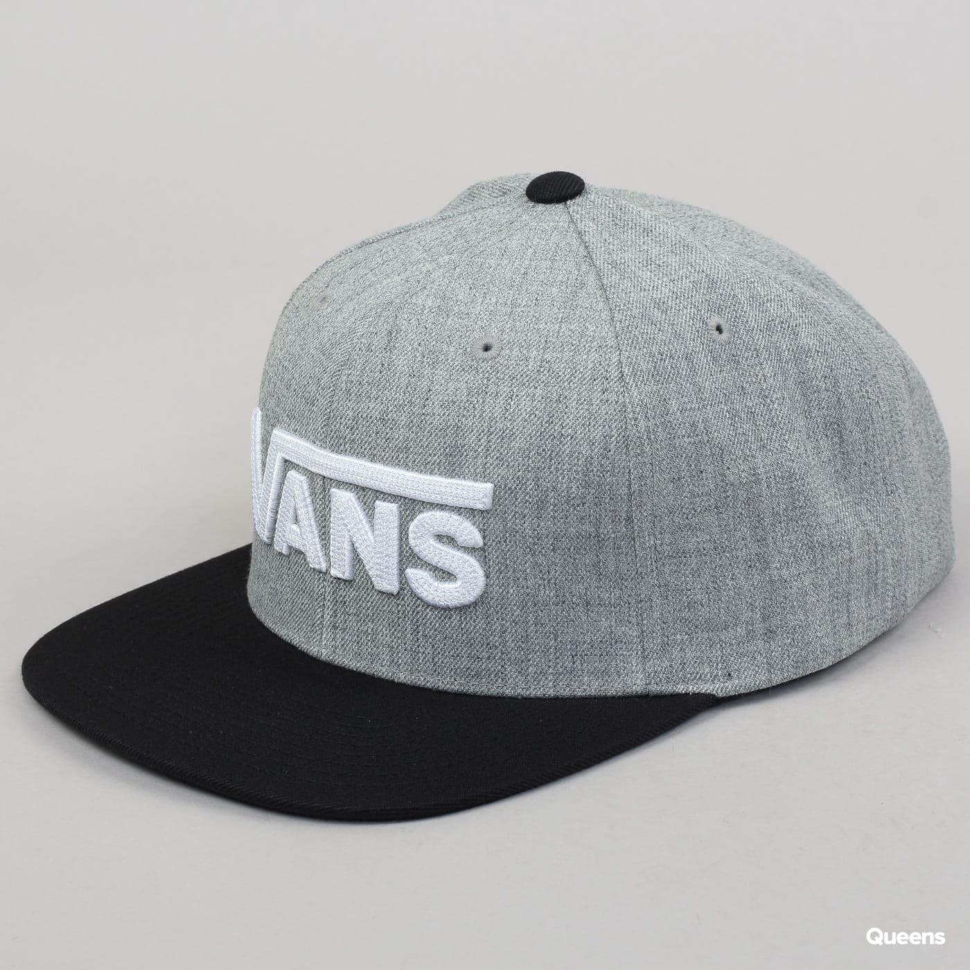 Vans MN Drop V II Snapback melange grau / schwarz