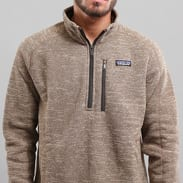 Patagonia M's Better Sweater 1/4 Zip melange hnědá