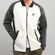 Nike M NSW Tech Fleece Varsity Jacket světle šedá / černá