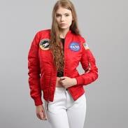 Alpha Industries WMNS MA - 1 VF NASA červená