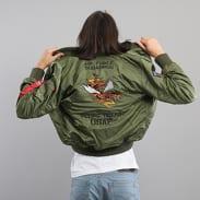 Alpha Industries MA - 1 VF Flying Tigers olivová