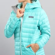 Patagonia Down Sweater Hoody tyrkysová