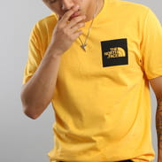 The North Face M S/S Fine Tee gelb