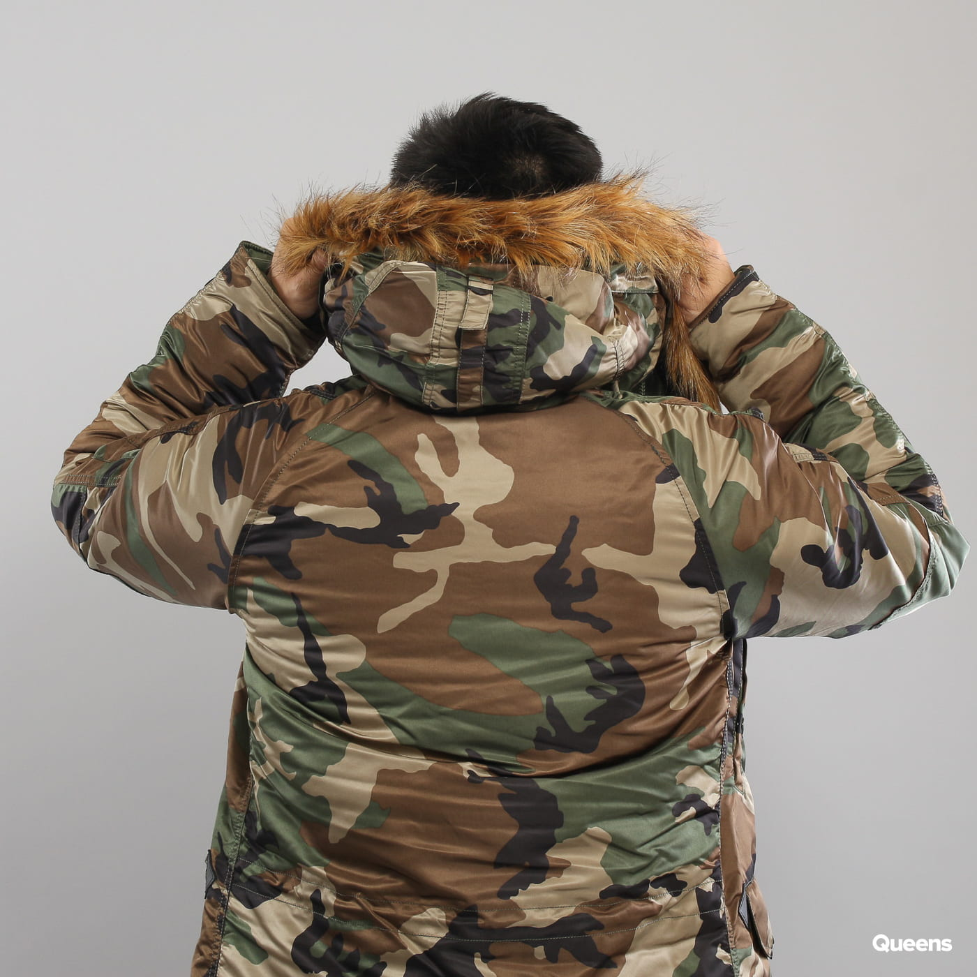 Alpha Industries N3B VF 59 camo green