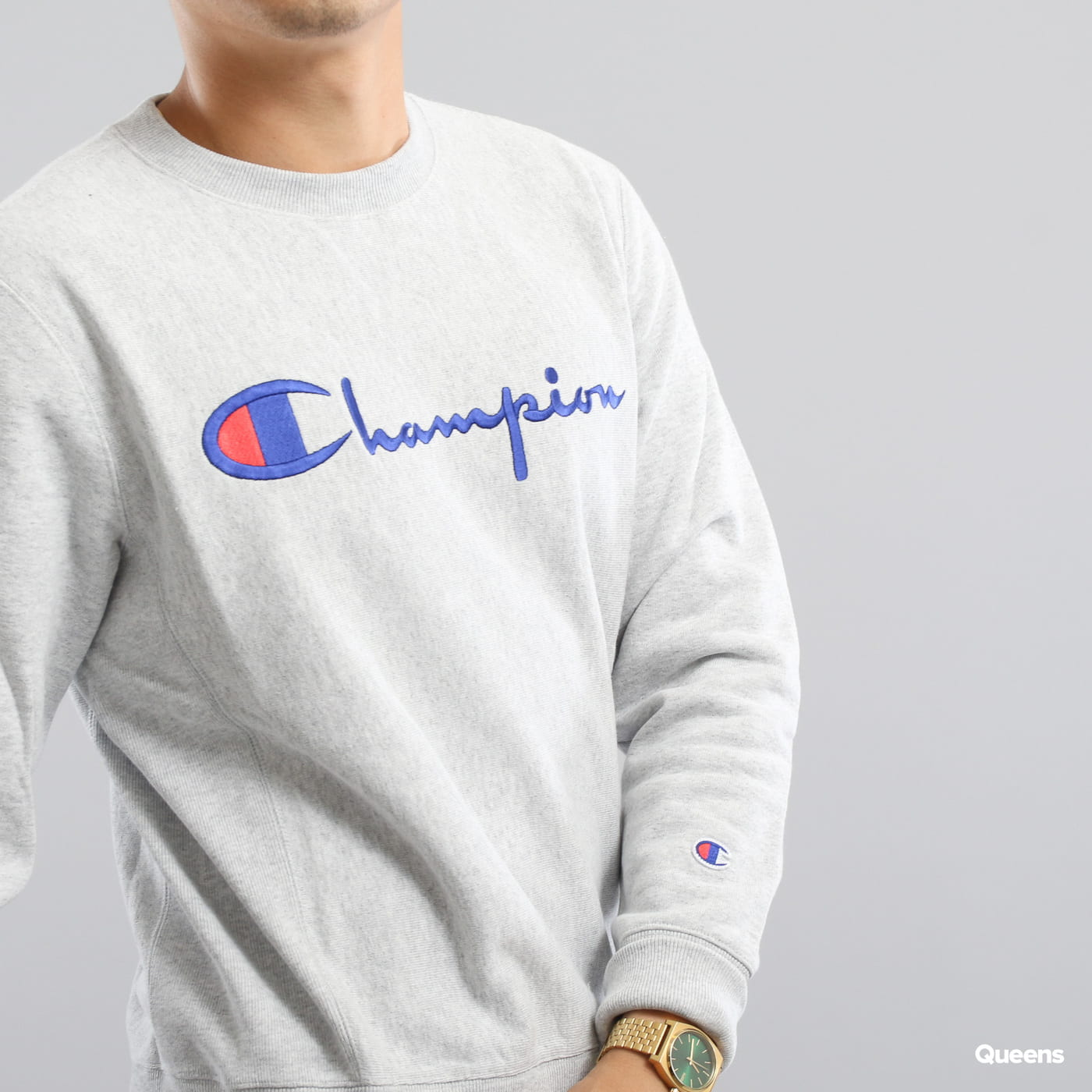 Champion Crewneck Sweatshirt grey melange