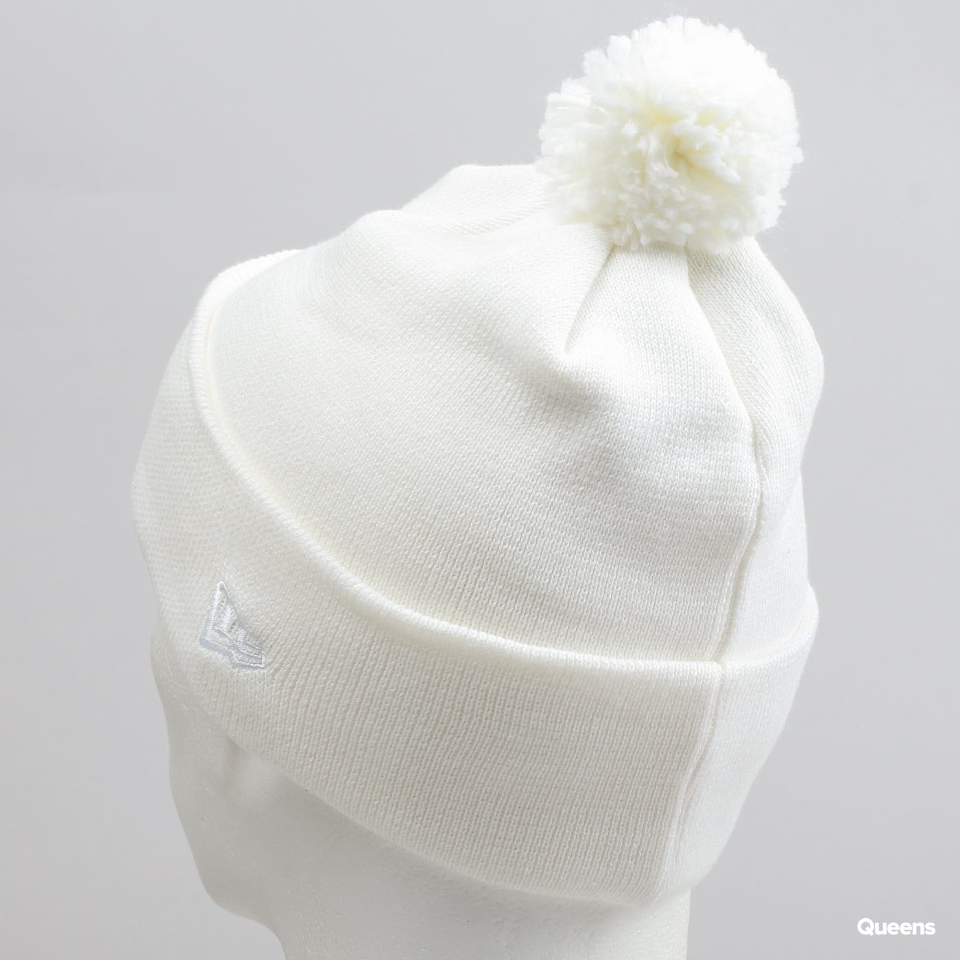 Knitting Queens Ny : Kulich new era wmns essential bobble knit ny