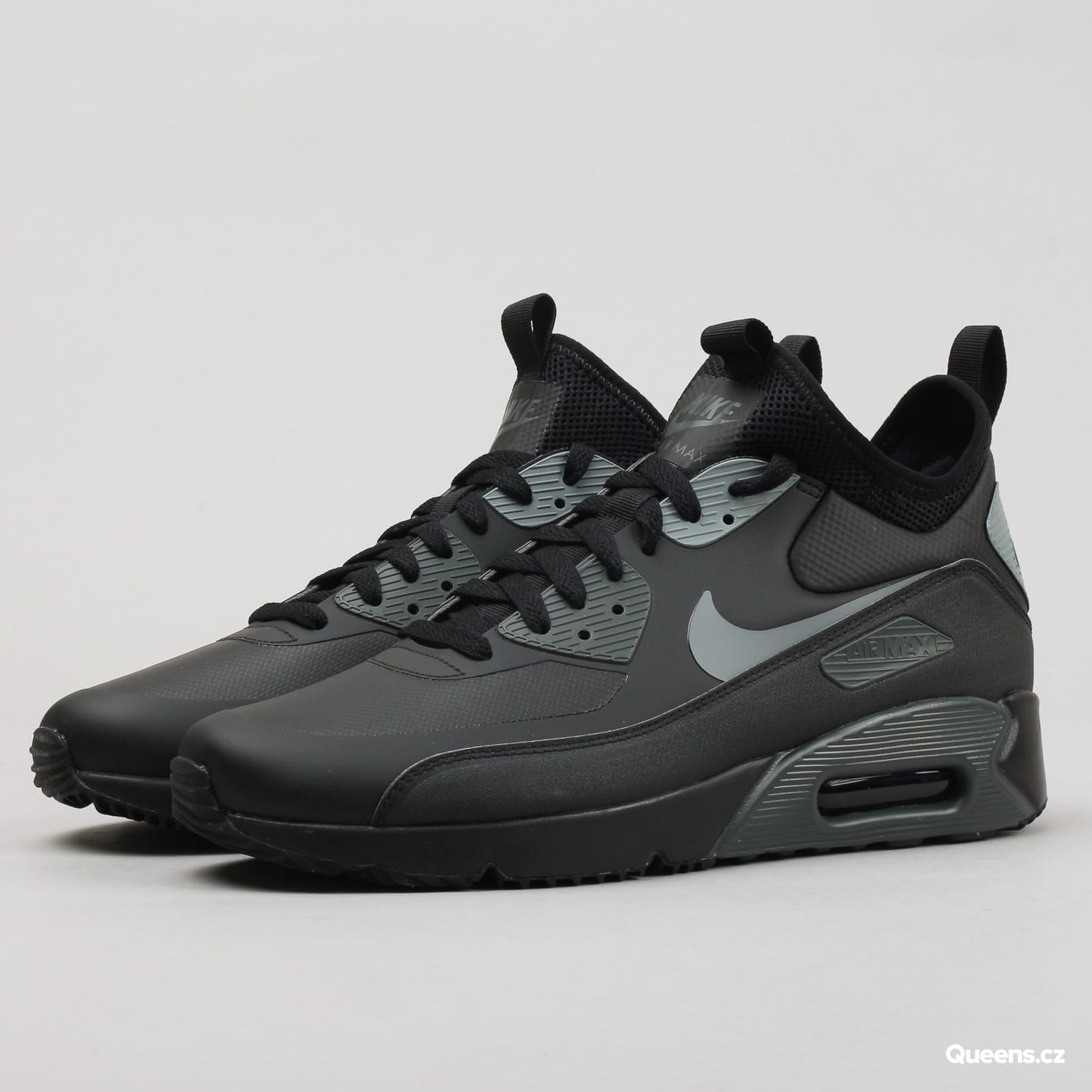 schuhe nike air max 90 ultra mid winter 924458 002 queens. Black Bedroom Furniture Sets. Home Design Ideas