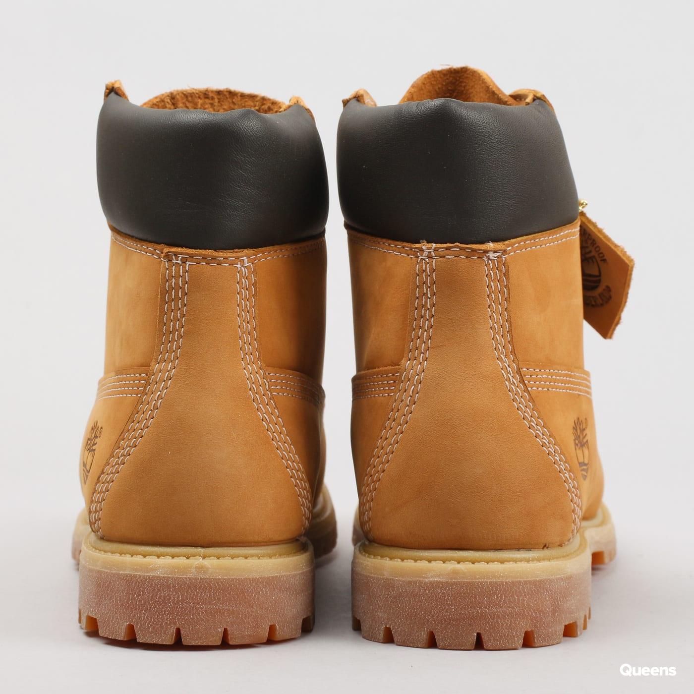 Timberland 6in Premium Boot - W wheat waterbuck