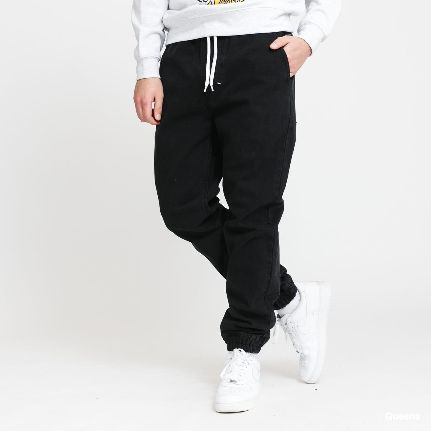 Mass DNM Jogger Jeans Signature black rinse