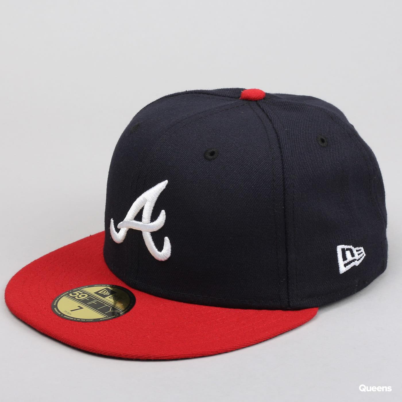 New Era 5950 MLB AC Perf A navy / červená / čierna