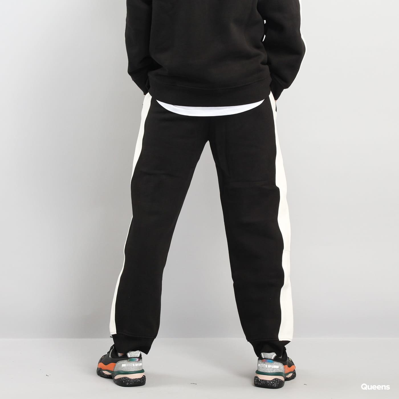 Puma Panel Sweatpants čierne / krémové