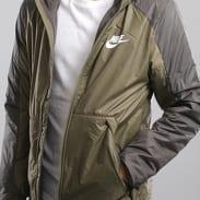 Nike M NSW Syn Fill Jacket HD FLC olivová / tmavě šedá