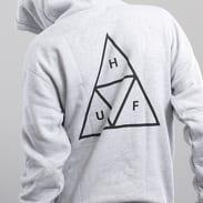 HUF Triple Triangle PO Hooded Sweatshirt melange šedá