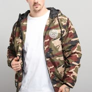 Mass DNM Base Jacket camo zelená