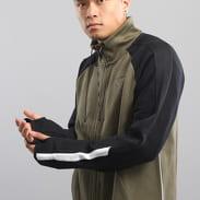 Puma Evo T7 Jacket tmavě olivová / černá
