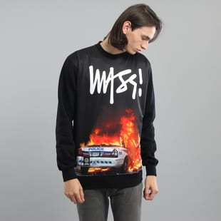 Mass DNM Burn Bi**h Crewneck