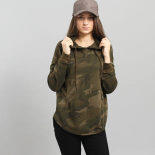 Urban Classics Ladies Oversized Camo Hoody
