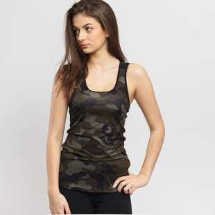 Urban Classics Ladies Camo Top