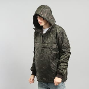 Urban Classics Padded Camo Pull Over Jacket
