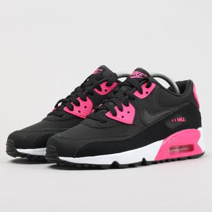 info for 7c02e 96581 Nike Air Max 90 Leather (GS) black / pink prime - white