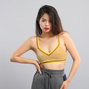 Puma V-Neck Velour Crop Top