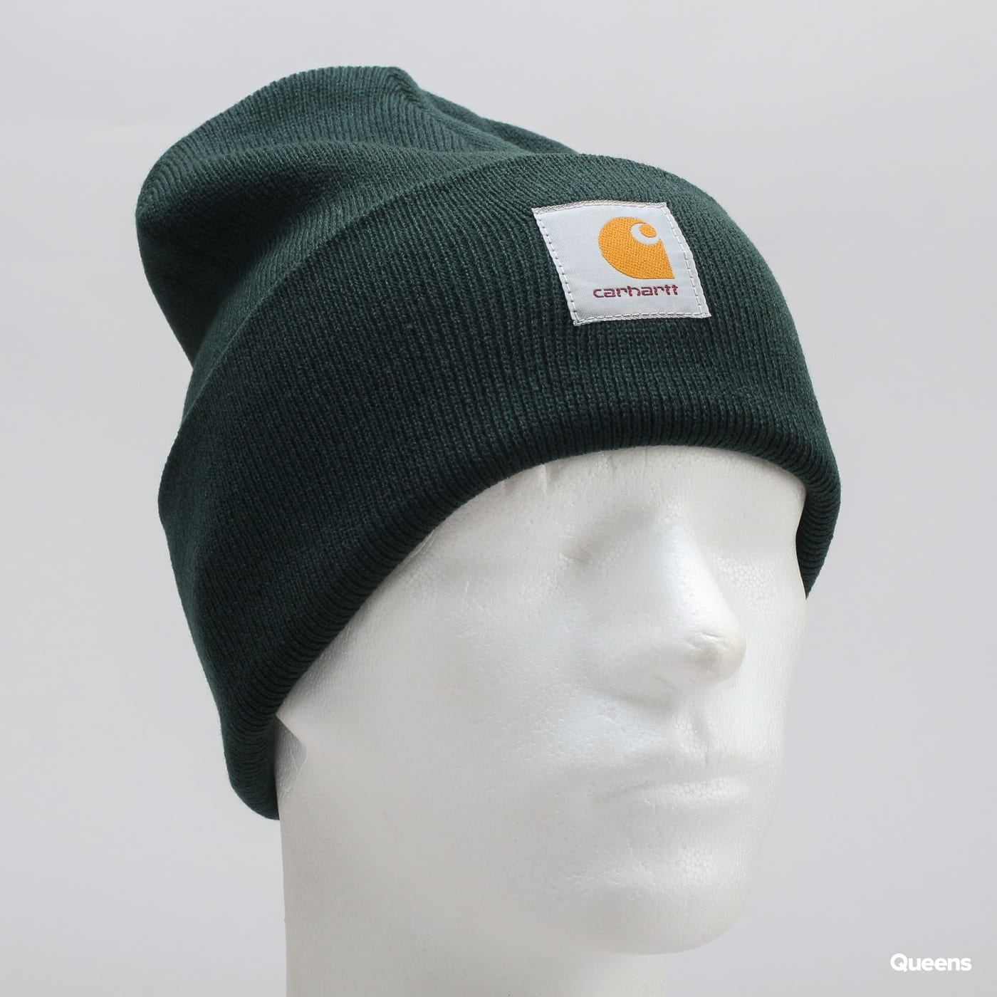 Carhartt WIP Acrylic Watch Hat tmavě zelený
