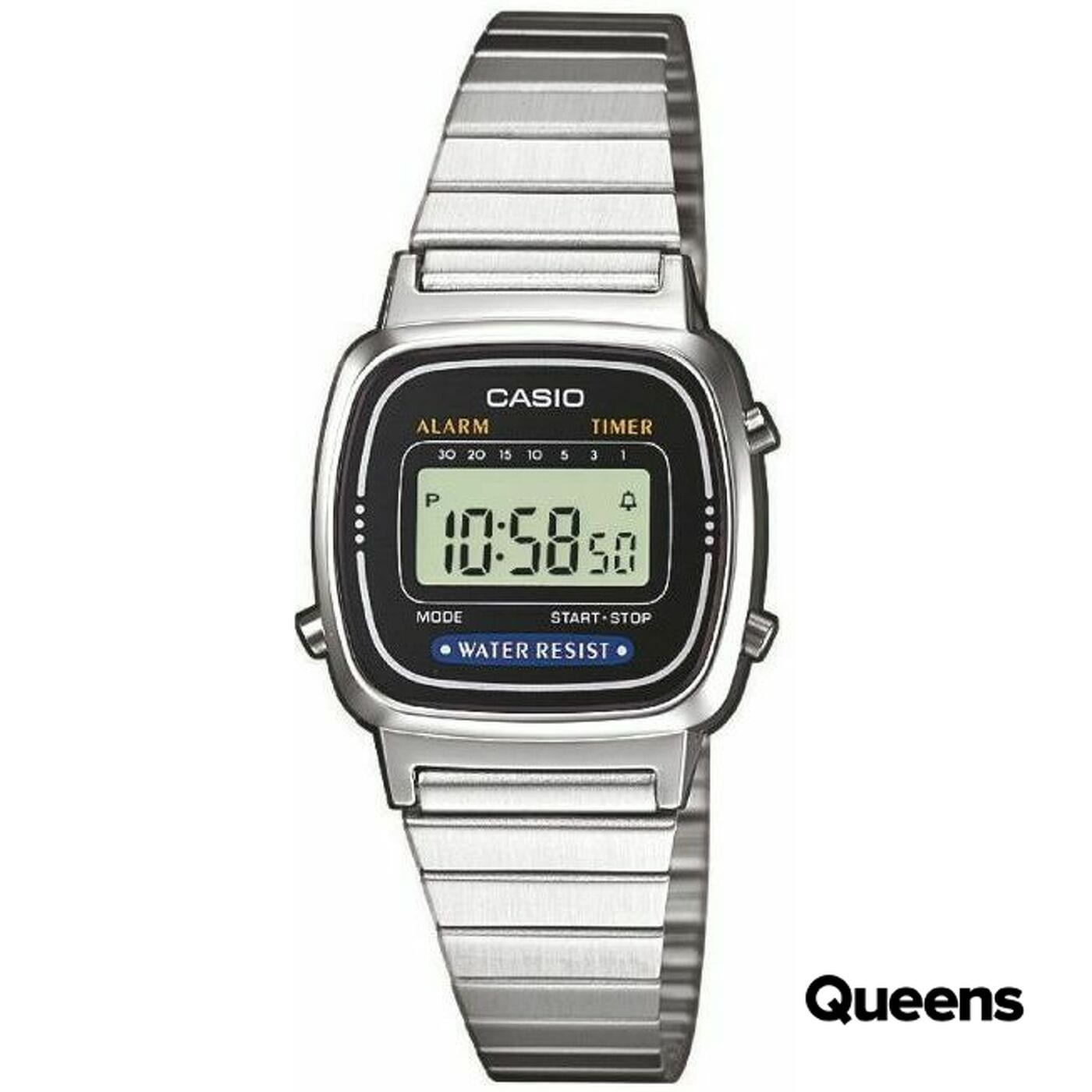 Casio LA 670WE-1EF silber