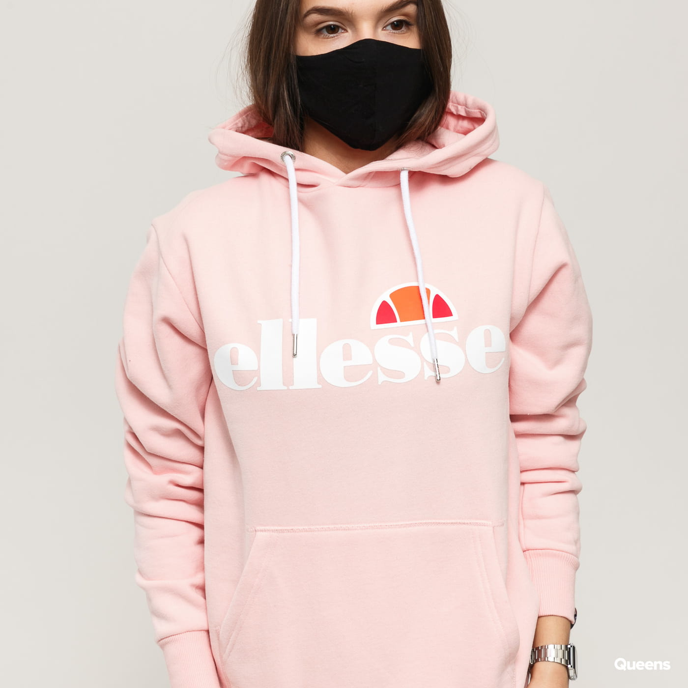 ellesse Torices OH Hoody rosa