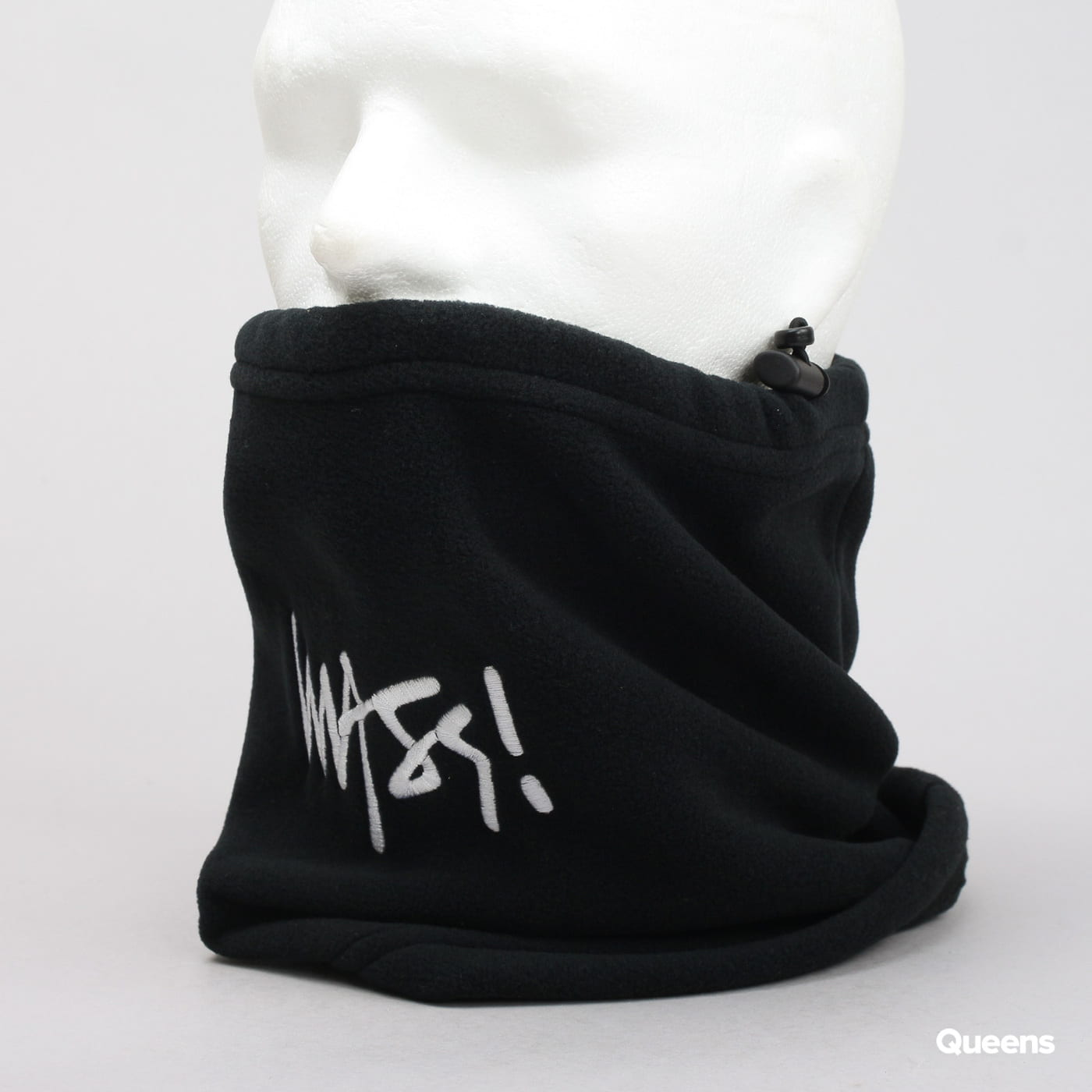 Mass DNM Neck Warmer Signature čierny